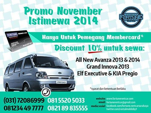 Banner promo November istimewa 2014